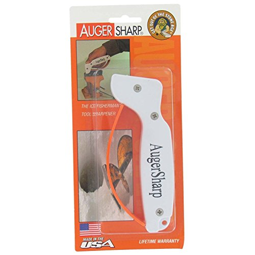 AccuSharp AugerSharp Ice Auger Tool Sharpener (Ice Auger Blade Sharpener)