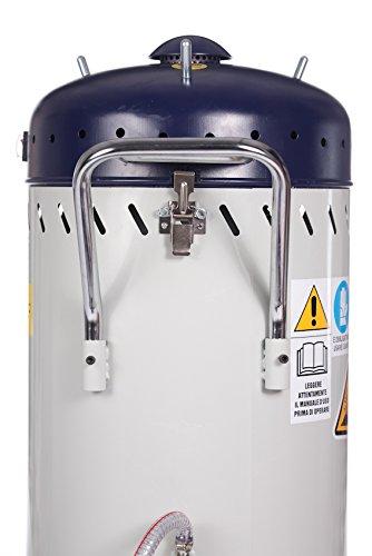 Sabbiatrice professionale con aspiratore recupero sabbia per esterni SOGI SP-28