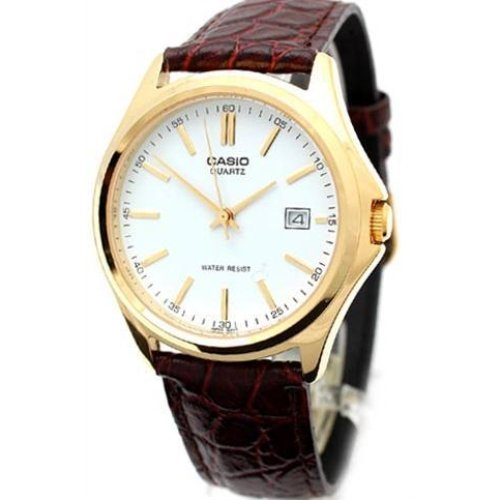 Casio MTP 1183Q 7A Analog Dress Croc Leather
