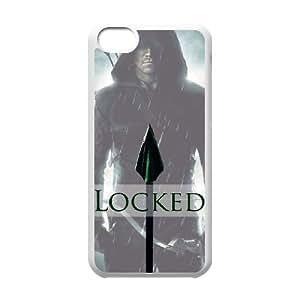 Unique Design Cases Alsdt iPhone 5C Cell Phone Case Arrow Printed Cover Protector