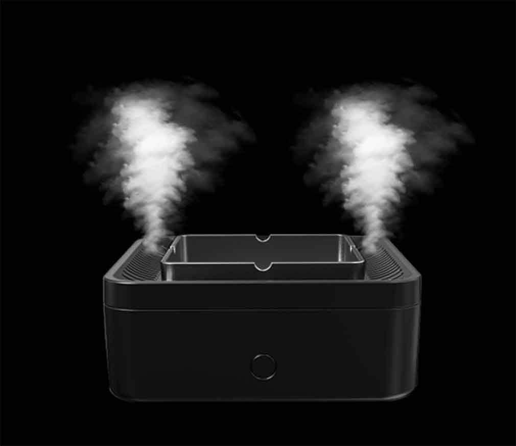 RUIXFPU Purificador de Aire, cenicero eléctrico, Desodorante para ...