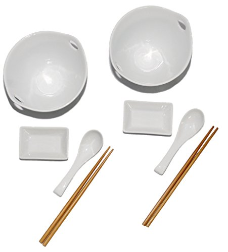 soup bowls and spoon set - 8
