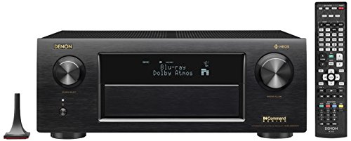 Denon AVRX6400H 11.2 Channel Full 4K Ultra HD Network AV Receiver with HEOS black