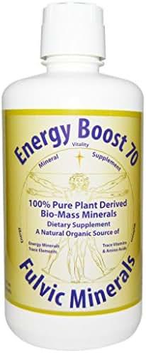 Energy Boost 70, Fulvic Minerals, 32 fl oz (946 ml)