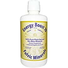 Energy Boost 70 Fulvic Minerals Trace Elements Vitamins and Amino Acids Morningstar Minerals (32 Ounce)