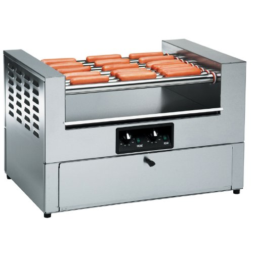 Gold Medal 8323 36 Hot Dog Grill w/ Bun Cabinet