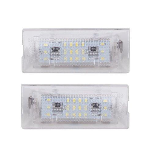 Akhan KB08 - LED Kennzeichenbeleuchtung Module komplette Einheit Plugn Play geeignet f/Ã /¼ r f/Ã /¼ r  E53 /(1999-2006/), E83 /(2003-2010/) akhan-tuning