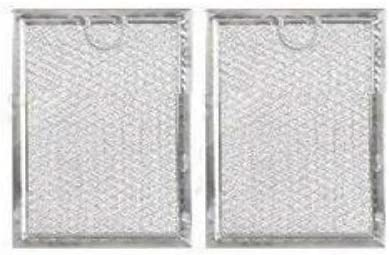 (GARRAG) 2-PACK LG 5230W1A012B Compatible Microwave Grease Aluminum Filter New Replacement
