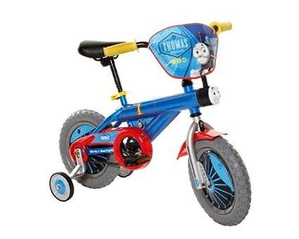 Amazoncom Thomas The Train Boys Bike 12 Inch Blueredyellow