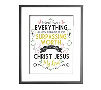 my worth in christ