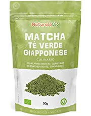 Ekologiskt grönt matcha pulverte [ KULINARISK KVALITET ] 50g. Matchate producerat i Japan, i staden Uji, Kyoto. Perfekt för efterrätter, smoothies, iste, latte och som ingrediens i mat- och bakrecept