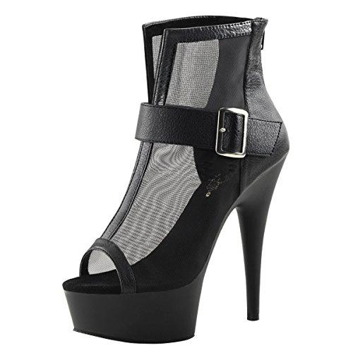 Heels-Perfect - Zapatos de vestir de Material Sintético para mujer Negro - negro