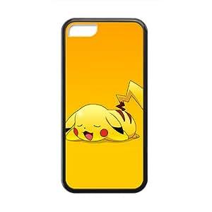 Custom Pokemon Desgin Carton TPU Case Cover Unique Durable Hard Plastic Case Cover for iPhone 5C