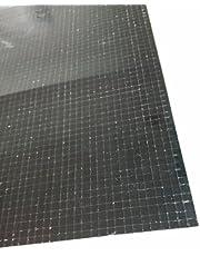 RUIXUAN Self-Adhesive Real Glass Mirror Mosaic Tile Craft,Colored Mini Square Mirrors Mosaic Tiles