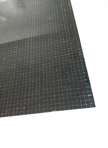 Self-Adhesive Real Glass Mirror Tile Craft ,Colored Mini Square Mirrors Mosaic Tiles (Black Mirror) - Mirror Glass Mosaic Tile