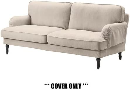 "IKEA STOCKSUND - Cover for Sofa (78 3/4 "" width) Nolhaga Light Beige (cover  only): Amazon.ca: Home & Kitchen"
