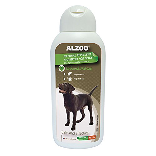 Alzoo Repel Dog Shampoo - 13.5 oz.