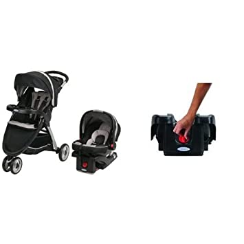 4c201a9176bc Amazon.com   Graco FastAction Fold Sport Stroller Click Connect Travel  System