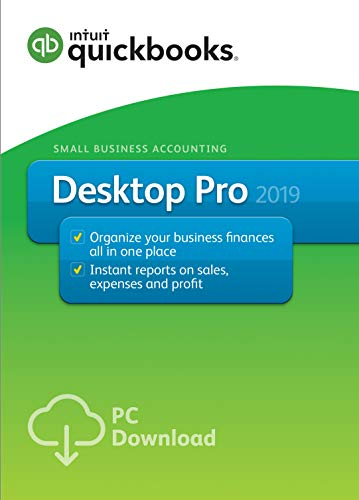 : QuickBooks Desktop Pro 2019 [PC Download][Old Version]