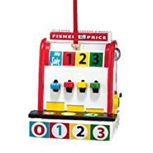 Fisher Price Cash Register Christmas Hanging Ornament by Department 56