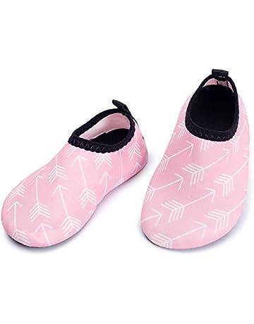 13cb5f42c6 L-RUN Baby Water Shoes Barefoot Skin Aqua Sock Swim Shoes for Beach Swim  Pool