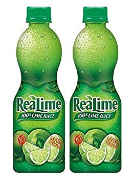 Realime 100% Lime Juice, 15 oz (2 PACK) (Lime Juice)