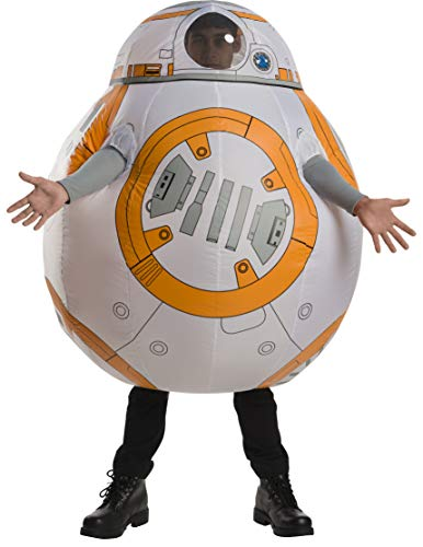 Bb-8 Halloween Costume (Rubie's Men's BB-8, Multi Color, One)