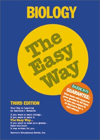 Biology the Easy Way (Easy Way Series) by Edwards Gabrielle I. (2000-11-01) Paperback