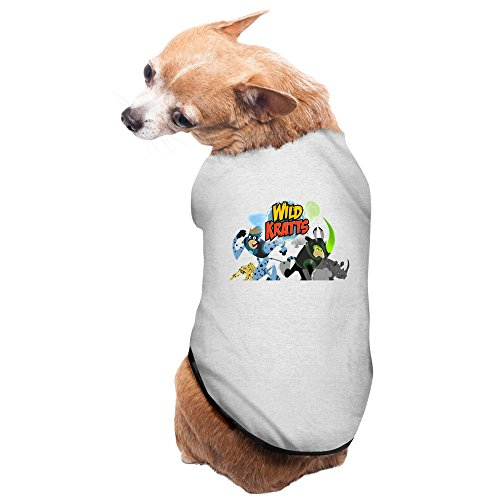 causal-wild-kratts3-1-pet-dogs-100-fleece-vest-t-shirt-gray-us-size-m