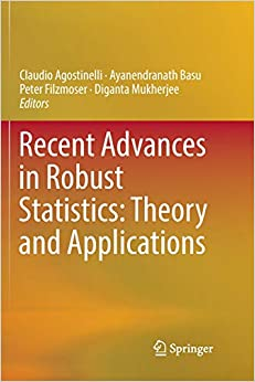 Claudio Agostinelli - Recent Advances In Robust Statistics: Theory And Applications