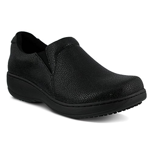 Spring Step Womens Belo Work Shoe Black Pebbles