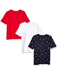 Amazon Essentials Boys'  3-Pack Short Sleeve Tee