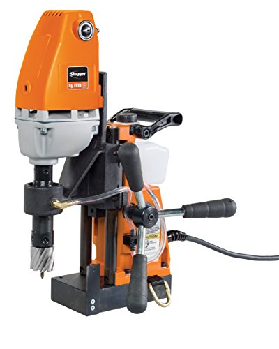 "Jancy Holemaker II Portable Magnet-Base Drill, 120V, 11.5 Amp Motor, 1-3/8"" Diameter x 2"" Depth Capacity"
