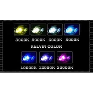 XENTEC 9006 8000K HID Xenon Bulb x 1 pair (HB4, Iceberg Blue)