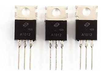 5pcs 2SA1012 A1012 TO-220 PNP Transistor