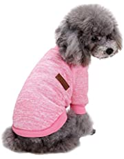 Fashion Focus On Pet Dog Clothes Knitwear Dog Sweater Soft Thickening Warm Pup Dogs Shirt Winter Puppy Sweater for Dogs