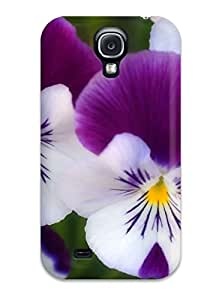 2653161K99399477 Cute Tpu Flower Case Cover For Galaxy S4