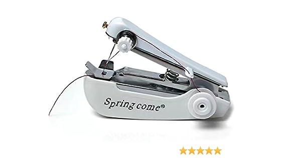Casa portátil Mini mano máquina de coser al aire libre Viajes ...
