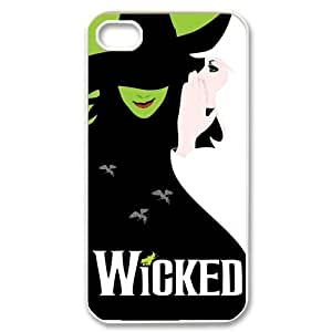 Best Iphone 4/4s Case Cover With Musical Wicked Design Case Show-1ya833
