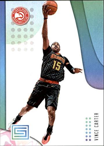 Carter Basketball Vince (2018-19 Status Basketball #13 Vince Carter Atlanta Hawks Official NBA Trading Card From Panini)