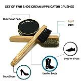 Valentino Garemi 4 Shoe Cream Applicator Brushes