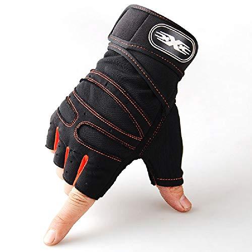 Soft Toys, Heren/Womens Gym Workout Handschoenen – Fietsen, Roeien, Gewichtheffen, Cross Training, Sport, Fitness – Anti…