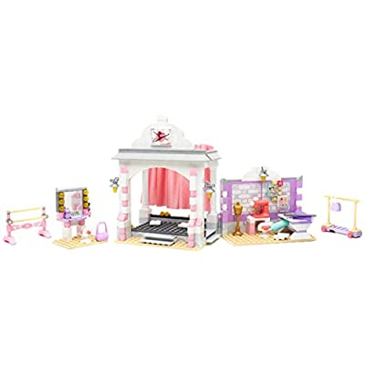 Mega Bloks American Girl Isabelle's Ballet Recital Construction Set: Toys & Games