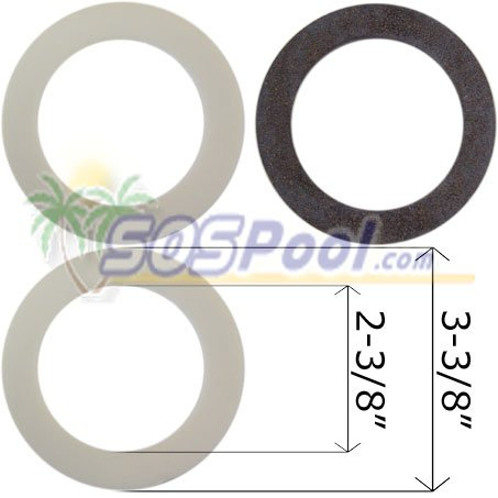 Pooline Return Fitting Gasket Pool Skimmer 11010 (Return Gasket)