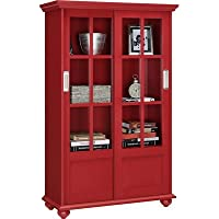 Red Barrel Studio Gullette 51 Standard Bookcase (Red)