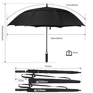 ACEIken Golf Umbrella Windproo...