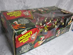 1994 Mr. Christmas Mickey's Marching Band Disney Animated...