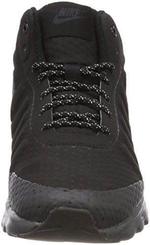 Nike Mens Air Max Invigor Metà Scarpa Casual Nera / Antracite
