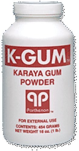 Gum Powder Karaya (Parthenon K-Gum Karaya Gum Powder 3Oz Puff Bottle (1 Each) by Parthenon Corp)