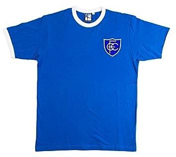 Old School Football Chesterfield 1958-59 Retro Fútbol Camiseta Bordado  Insignia Tallas S-XXL - Grande  Amazon.es  Deportes y aire libre d7a755ac99383
